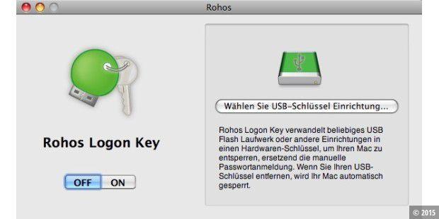 rohos logon key mac