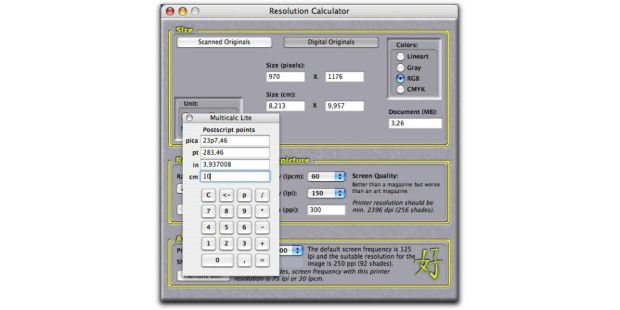 Resolution Calculator