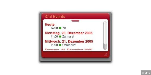 iCal Events