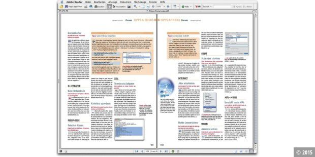 Screen Adobe Reader 7