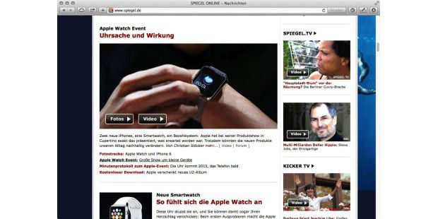 Presse-Rundschau zum Apple-Event