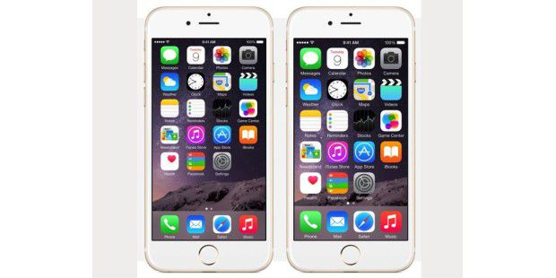 iOS 8 Funktionen im iPhone 6 und 6 Plus