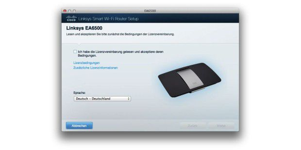 Cisco Linksys EA6500 und WUMC710