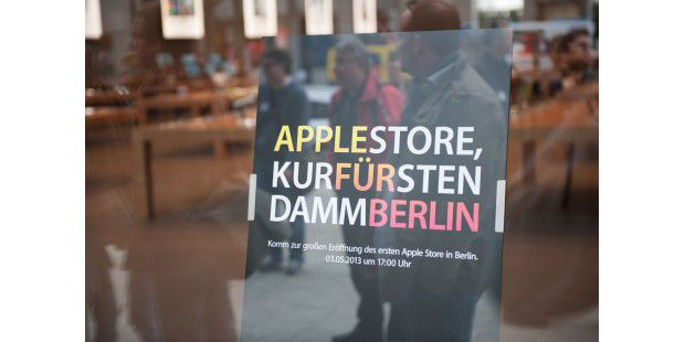 Rundgang durch den Apple Store Berlin