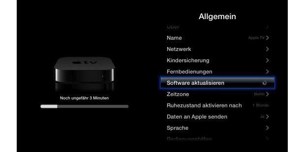 Ausprobiert: Apple TV mit Tastatur