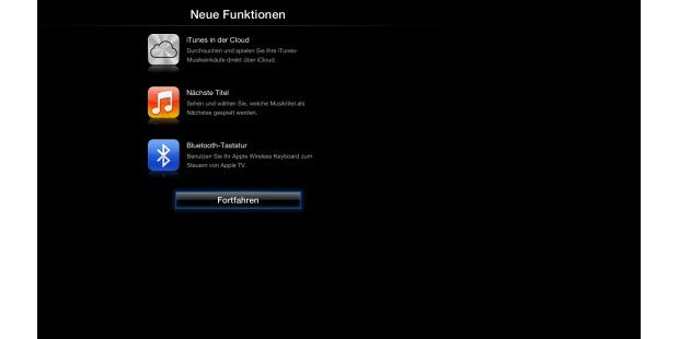 Apple TV mit Update 5.2