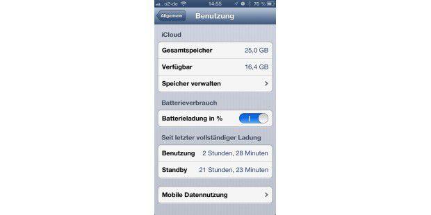 Stromspar-Tipps für iPhone-Akku