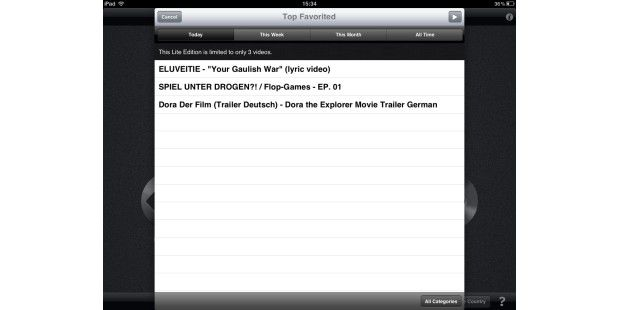 Alternative Youtube-Clients für iPhone und iPad