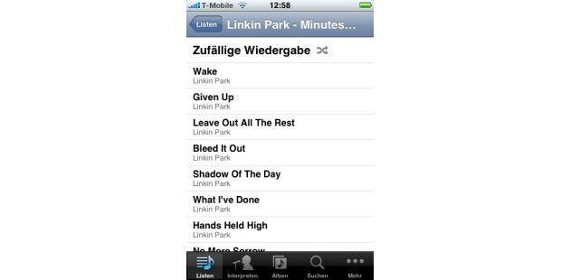 iPhone-Software aus dem App Store