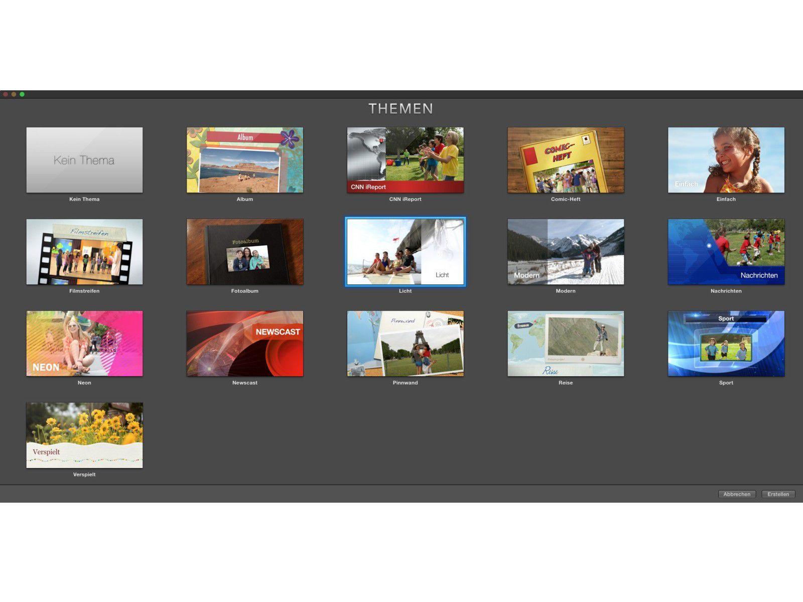 Vorlagen in iMovie zeitsparend nutzen und ändern - Macwelt