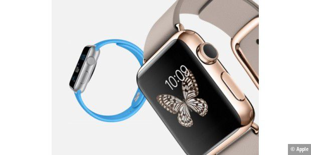 Tattoos stören Herzschlag-Sensor in Apple Watch (c) Apple