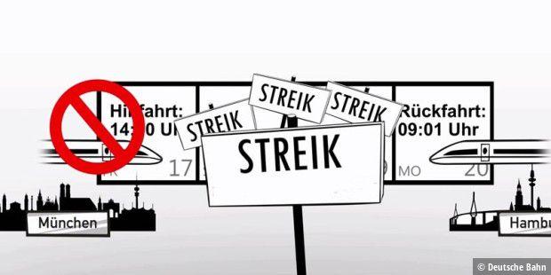 Gdl Streik Ersatzfahrplan