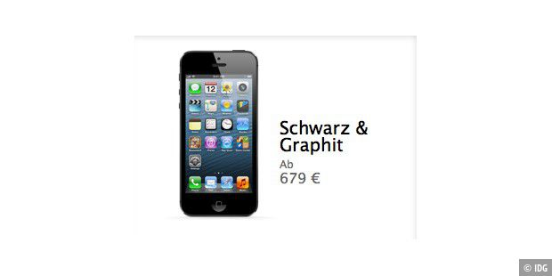 iphone 5 kaufen so klappt es noch macwelt. Black Bedroom Furniture Sets. Home Design Ideas