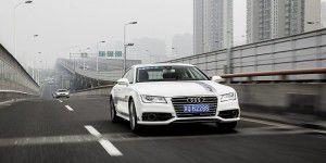 Audi zeigt Stau-Pilot: Autonom bis Tempo 60