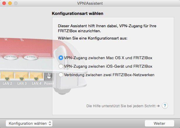 Article - L2tp server hinter fritzbox