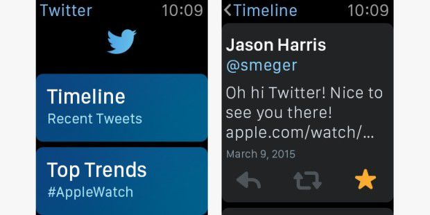 Apple Watch App: Twitter