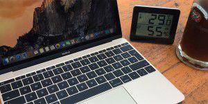 35 Grad im Schatten: Macbook im Hitzetest