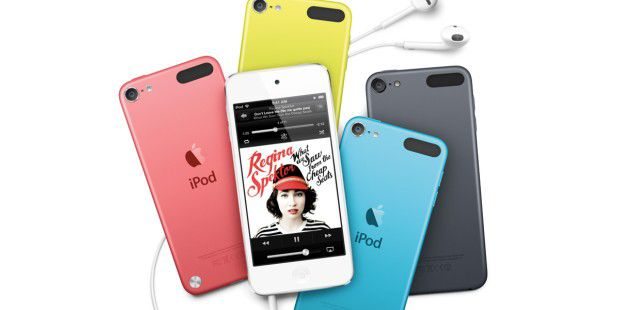 iPod Touch 2012 im Test: Apples Player wird bunt