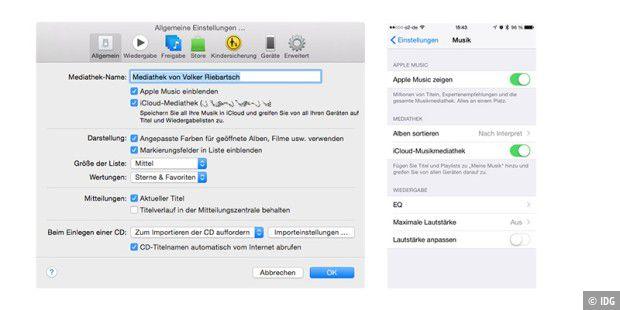2d3ec9e150 Schalten sie an Mac und iOS die Funktion iCloud-Mediathek ein, um Ihre  gerippte