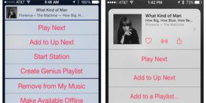iOS 9: Redesign für Music App
