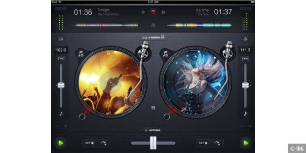 Djay: iPhone- und iPad-App mit Spotify-Integration