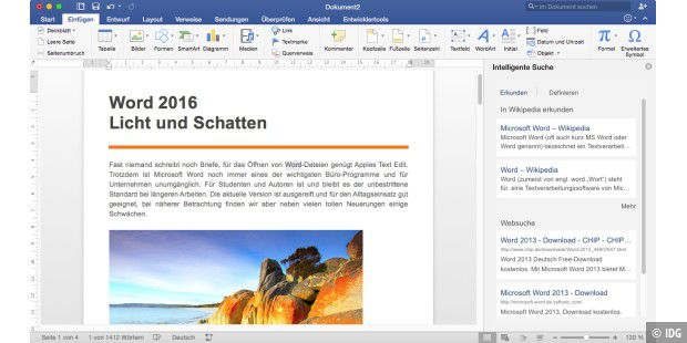 Office 2016 in der Praxis - Word 2016