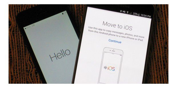 Move to iOS: Apples erste Android-App