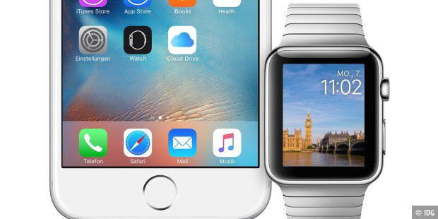 Apple Watch und iPhone