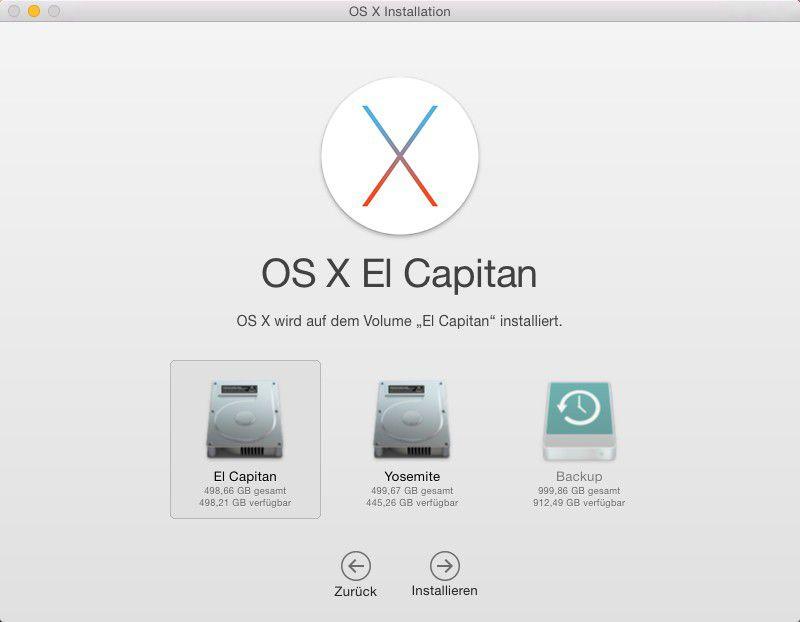 OS X 10.11 El Capitan richtig installieren - Macwelt