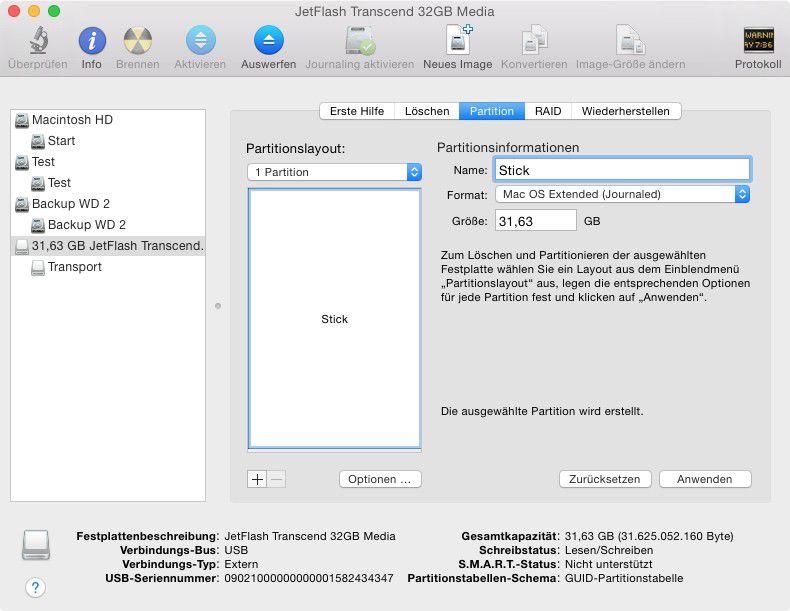 bootfahigen usb stick fur mac unter windows erstellen