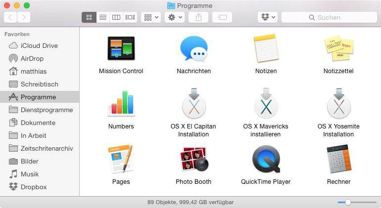 OS X 10 11 El Capitan - so erstellen Sie einen bootfähigen USB-Stick