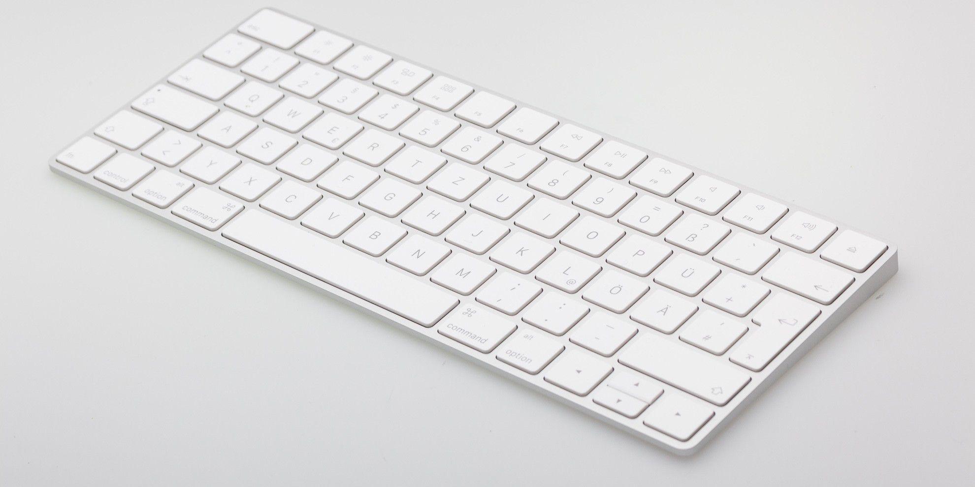 Test Apple Magic Keyboard - Macwelt