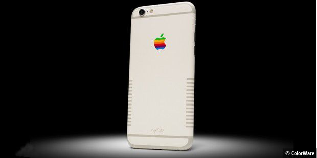 Das iPhone 6S im Retrolook kostet bei ColorWare 1600 US-Dollar.