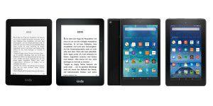 Ebook-Reader: Kindle oder Fire?