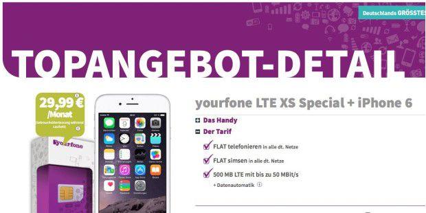 Yourphone: Top-Angebot hat einen Haken