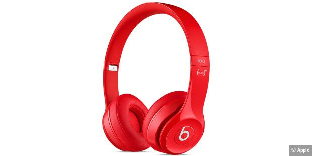 Die Beats Solo 2 On-Ear im RED-Design.