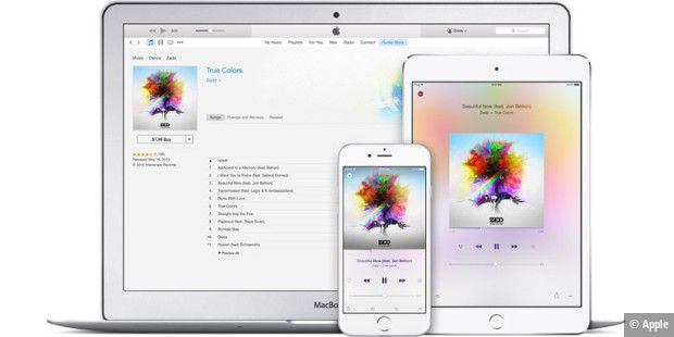 iTunes Match mit 100.000 Songs.