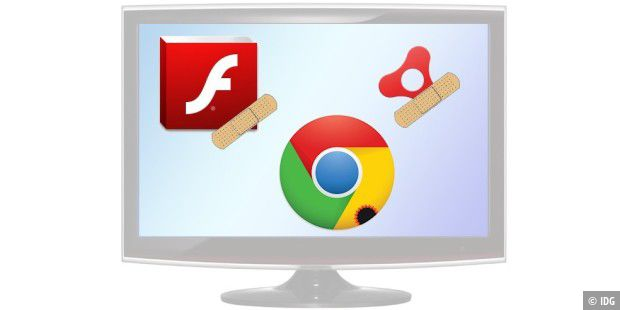 Flash Player Update auf Version 20