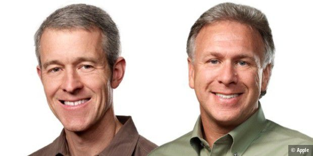 COO Jeff Williams und Marketing Chief Phil Schiller
