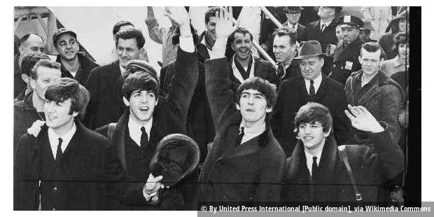 The Beatles in den USA 1964.