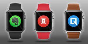 Produktive Arbeit: Drei Apps für die Apple Watch