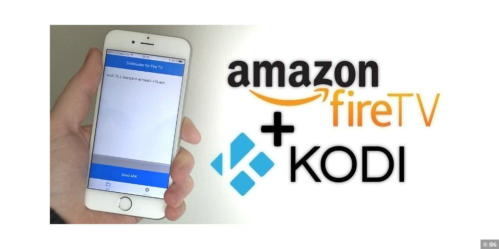 Kodi (XBMC) und Android-Apps auf dem Fire TV per iPhone installieren