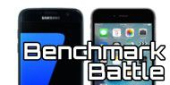 Benchmark-Battle: Galaxy S7 vs. iPhone 6s