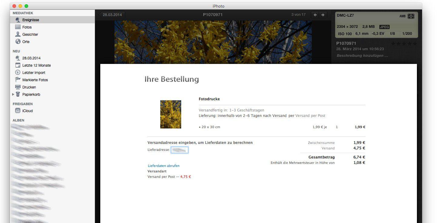 Apple Fotobuch fremdgedruckt - Macwelt