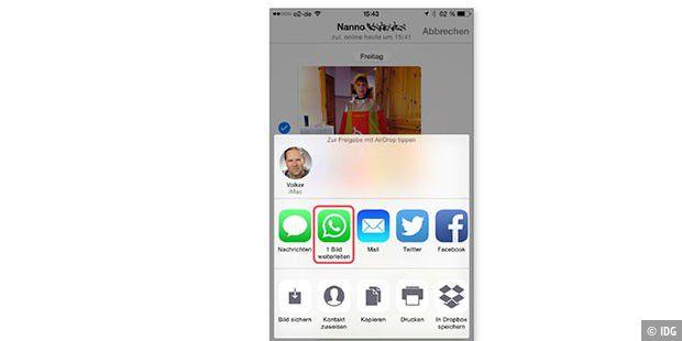 WhatsApp-Haken-Zahlen