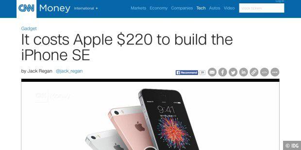 Einkaufspreis Iphone