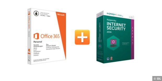 Paket Office und Antivirus