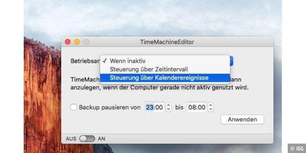 Time Machine Editor