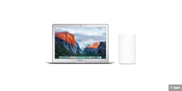 Macbook Air mit Airport Extreme