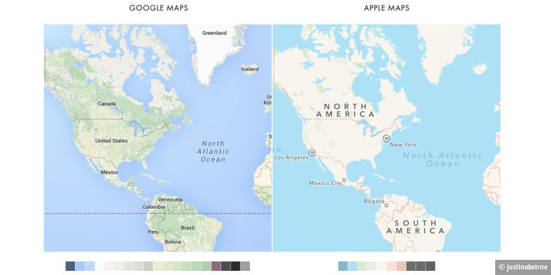 Google Maps vs. Apple Maps: Vergleich nach 4 Jahren - Macwelt